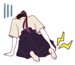 Kyudo girl Yumiko [English ver] sticker #578814