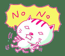 Selfish Cat (English ver.) sticker #579514