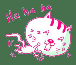 Selfish Cat (English ver.) sticker #579522