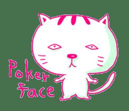 Selfish Cat (English ver.) sticker #579524