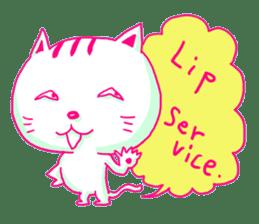 Selfish Cat (English ver.) sticker #579527