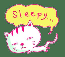 Selfish Cat (English ver.) sticker #579533