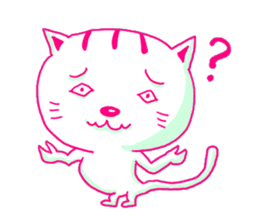 Selfish Cat (English ver.) sticker #579543
