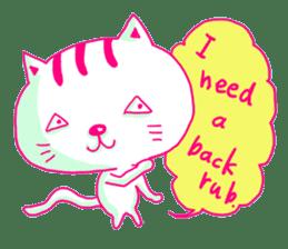 Selfish Cat (English ver.) sticker #579544