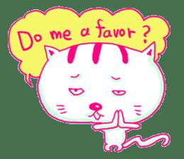 Selfish Cat (English ver.) sticker #579547