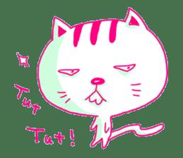 Selfish Cat (English ver.) sticker #579548