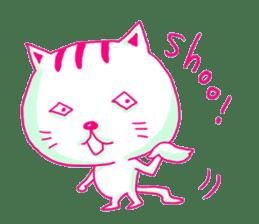 Selfish Cat (English ver.) sticker #579553