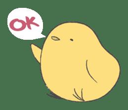 round chick sticker #580797