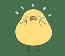 round chick sticker #580814