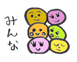 Japanese  sweets sticker #581067