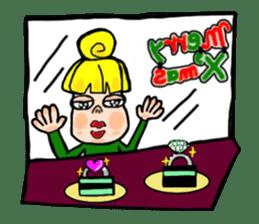 Merry X'mas & Happy New Year sticker #582078