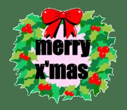 Merry X'mas & Happy New Year sticker #582083