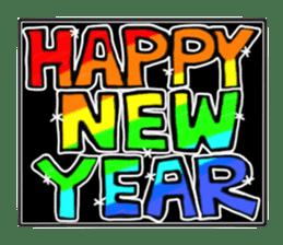 Merry X'mas & Happy New Year sticker #582095
