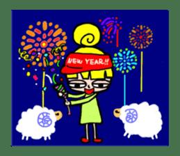 Merry X'mas & Happy New Year sticker #582096