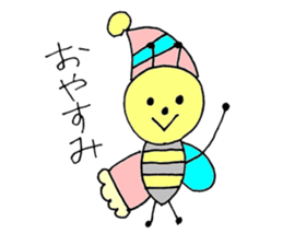 a bee in love sticker #582156