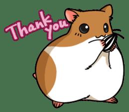 Hamster's assortment sticker #582194
