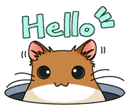 Hamster's assortment sticker #582211