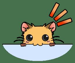 Hamster's assortment sticker #582226