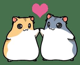 Hamster's assortment sticker #582230