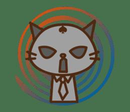 SENPAI CAT sticker #582323