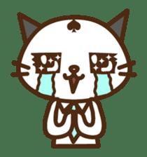 SENPAI CAT sticker #582326
