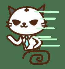 SENPAI CAT sticker #582333