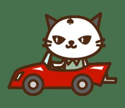 SENPAI CAT sticker #582335