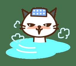 SENPAI CAT sticker #582343