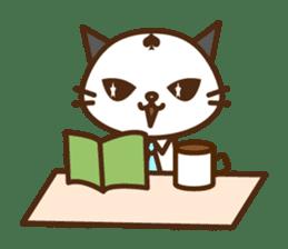 SENPAI CAT sticker #582350