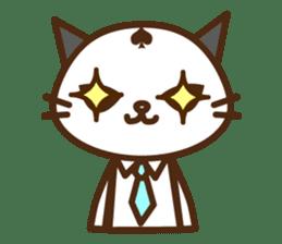 SENPAI CAT sticker #582351