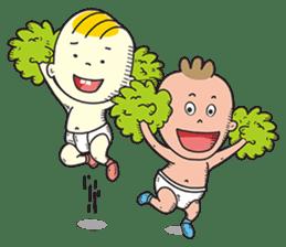 Bam & Tan: Lets Play sticker #583326
