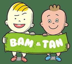 Bam & Tan: Lets Play sticker #583330