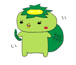Yuru-Kappa sticker #583954