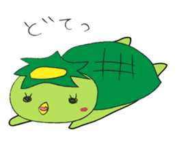 Yuru-Kappa sticker #583967