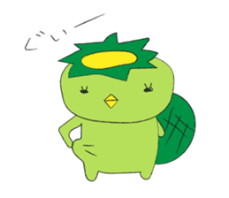 Yuru-Kappa sticker #583974