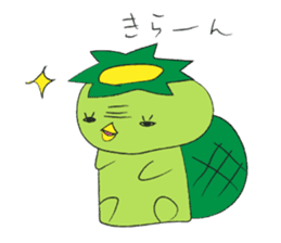 Yuru-Kappa sticker #583975