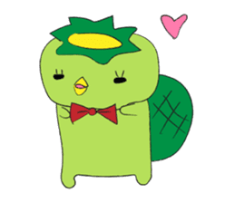 Yuru-Kappa sticker #583982