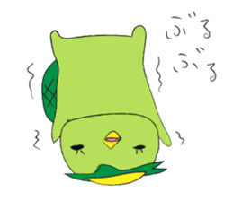 Yuru-Kappa sticker #583985