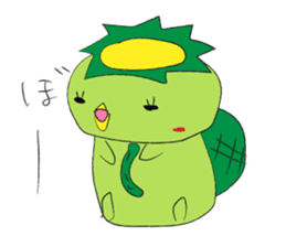 Yuru-Kappa sticker #583989