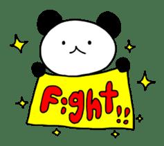 A panda and friends. sticker #584011