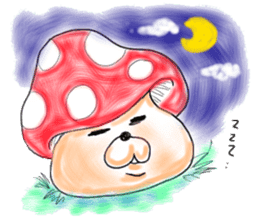 Mushroom friend sticker #584117