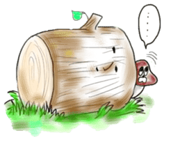 Mushroom friend sticker #584126