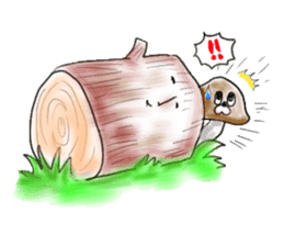 Mushroom friend sticker #584127