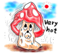 Mushroom friend sticker #584134