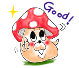 Mushroom friend sticker #584148
