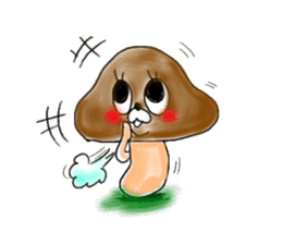 Mushroom friend sticker #584149
