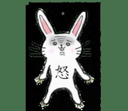 overbite Rabbit sticker #584394