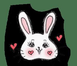 overbite Rabbit sticker #584399