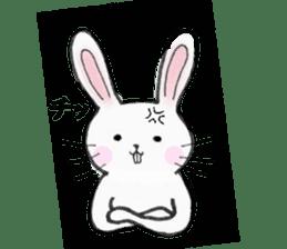 overbite Rabbit sticker #584403