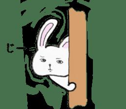 overbite Rabbit sticker #584408